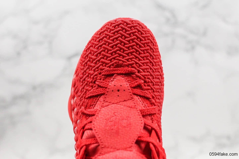 耐克Nike LeBron 17 Black White纯原版本詹姆斯17代大红色内置纤维丝气垫支持实战原盒原标 货号:BQ3177-600