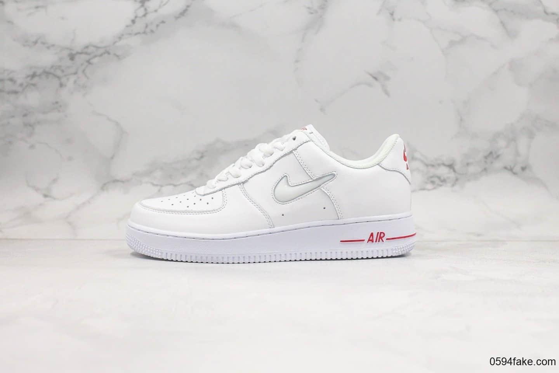 耐克Nike Air Force 1 Low Jewel纯原版本低帮复