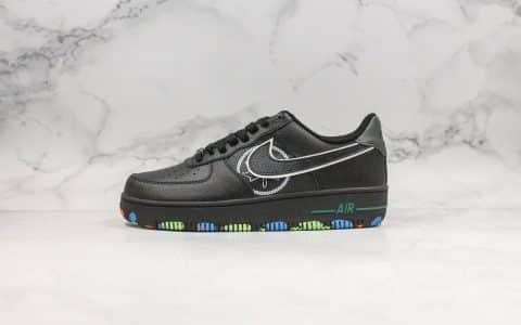 耐克Nike Air Force 1 NYC Parks纯原版本低帮空军一号纽约中央公园黑配色内置全掌气垫原盒原标 货号:CT1518-001