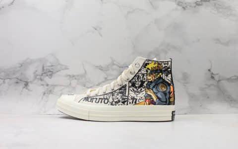 匡威Converse 1970S x 火影NARUTO -ナルト-日版限定联名款高帮帆布鞋公司级版本原盒原标正确硅蓝中底原厂硫化大底