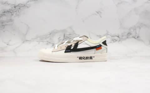 回天之力OFF-WHITE x The Remade公司级版本联名款致敬回力定制鞋款原厂硫化大底原档案数据开发
