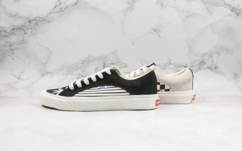 万斯Vans Vault OG Lampin LX公司级版本低帮条纹格子黑白限定原厂硫化大底原鞋开模一比一打造