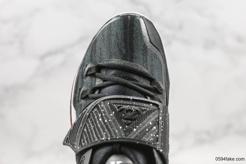 耐克Nike Kylie 6纯原版本欧文6代篮球鞋黑白红泼墨内置气垫支持实战原盒配件 货号:BQ4631-001
