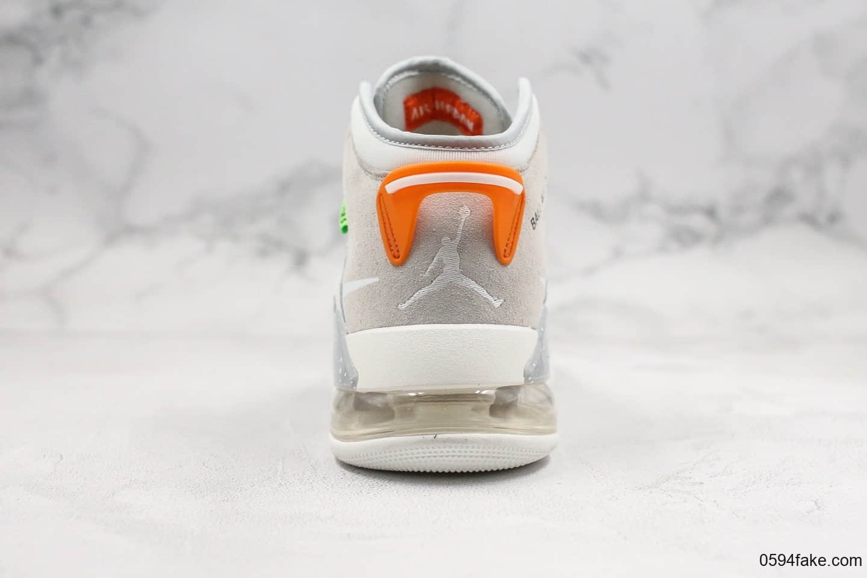 乔丹Air Jordan Mars 270 Vast Grey纯原版本气垫鞋联名款灰色麂皮配色内置Max气垫正确TPU组合鞋底原盒原标 货号:CT9132-001