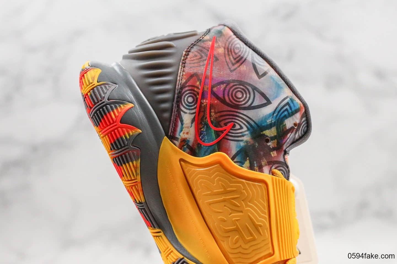 耐克Nike Kyrie 6 Taipei纯原版本欧文6代北京城市限定配色内置气垫支持实战 货号:CQ7634-401