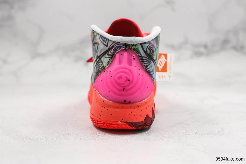 耐克Nike Kyrie 6 Pre-Heat Berlin纯原版本欧文6代城市限定柏林配色原档案数据开发内置气垫 货号:CN9839-600