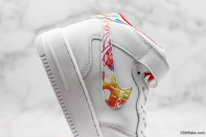 耐克Nike Air Force 1 Low Year of the Rat CNY纯原版本高帮空军一号2020年鼠年限定配色内置全掌气垫原档案数据开发 货号:CU2980-192