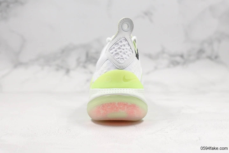 耐克Nike Joyride CC3 FlyknitAV纯原版本全新颗粒缓震科技荧光白绿真BOOST颗粒填充区别市面通货版本 货号:AT6395-100