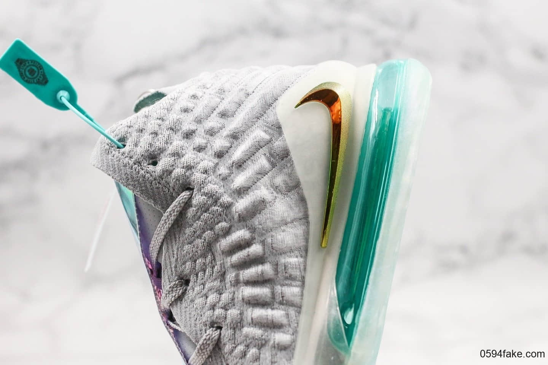耐克Nike LeBron 17 Future Air纯原版本詹姆斯17代签名战靴篮球鞋白橘黄炫彩镭射高帮运动飞织实战篮球鞋原盒原标 货号:BQ3177-908