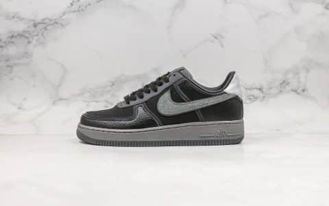 耐克Nike Air Force 1 x A Ma Maniére纯原版本低帮空军一号联名款黑灰色内置气垫原盒原标原鞋开模一比一打造 货号:CQ1087-001