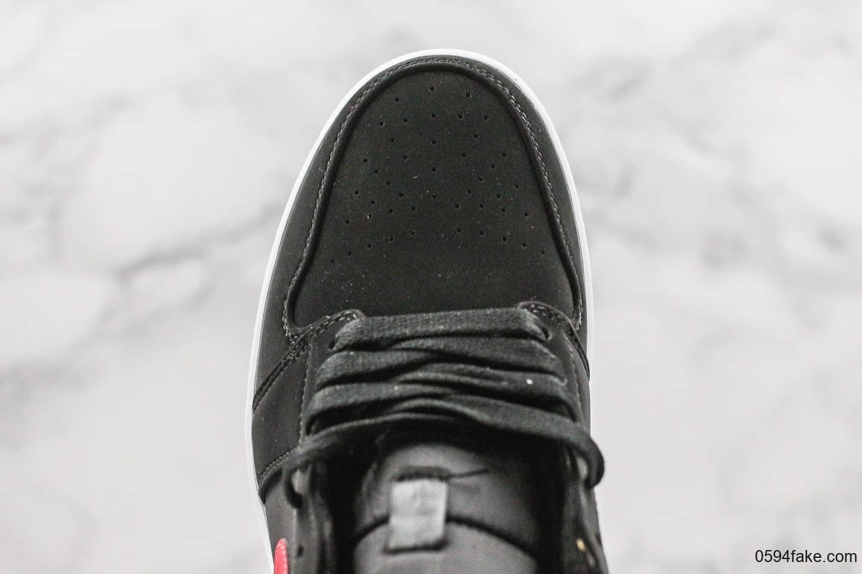乔丹Air Jordan 1 Red-Royal GS公司级版本中帮aj1黑蓝红鸳鸯新版本内置后掌sole气垫原楦头原纸板打造 货号:554725-065
