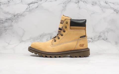 卡特Cat 720纯原版本推土机户外工装鞋二代进口五金皮原鞋开模一比一打造进口橡胶大底