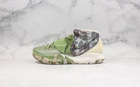 耐克Nike Kyrie 6 Pre-Heat Shanghai纯原版本欧文6绿色上海限定原鞋开模一比一打造实战篮球鞋 货号:CQ7634-303