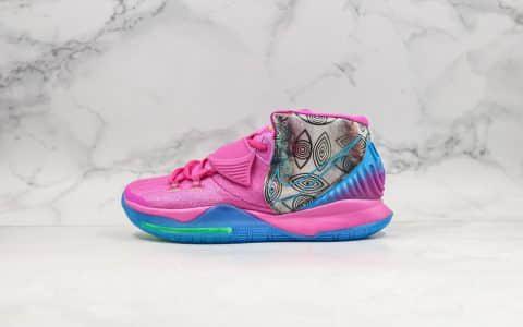 耐克Nike Kyrie 6 Pre-Heat Tokyo纯原版本欧文6粉色东京限定配色原档案数据开发实战篮球鞋 货号:CQ7634-601