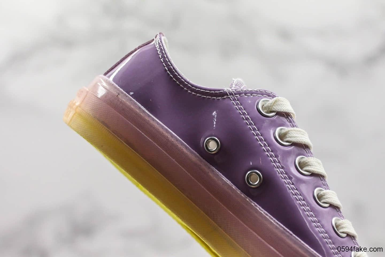耐克华莱士二代细节图_匡威Converse Chuck Taylor All Star Candy Coated HI水晶果冻系列马卡龙紫色 ...