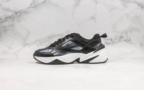 耐克Nike M2K Tekno ESS纯原版本复古m2k老爹鞋黑深蓝青岛原厂代工出货一次发泡成型 货号:CJ9583-001