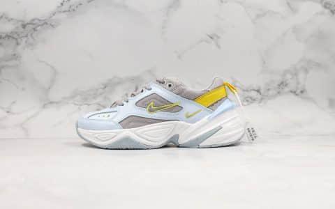 耐克Nike M2K Tekno纯原版本复古潮流老爹鞋兰灰黄原档案数据开发原盒原标区别市面错误版本 货号:AO3108-403