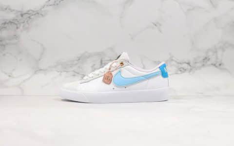 耐克Nike Sb OG HH纯原版本低帮开拓者限定配色进口头层麂皮内置Zoom气垫原盒原标 货号:CJ7049-616