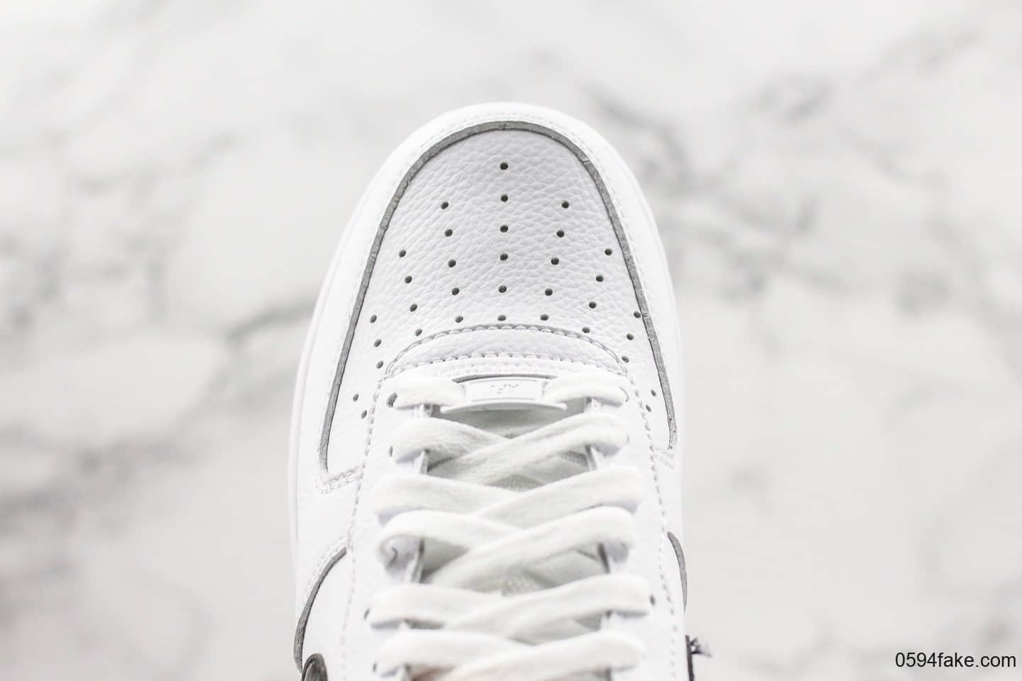 耐克Nike Air Force 1 Low 07纯原版本低帮空军一号黑白漆皮勾原盒原标内置气垫 货号:CI3446-100