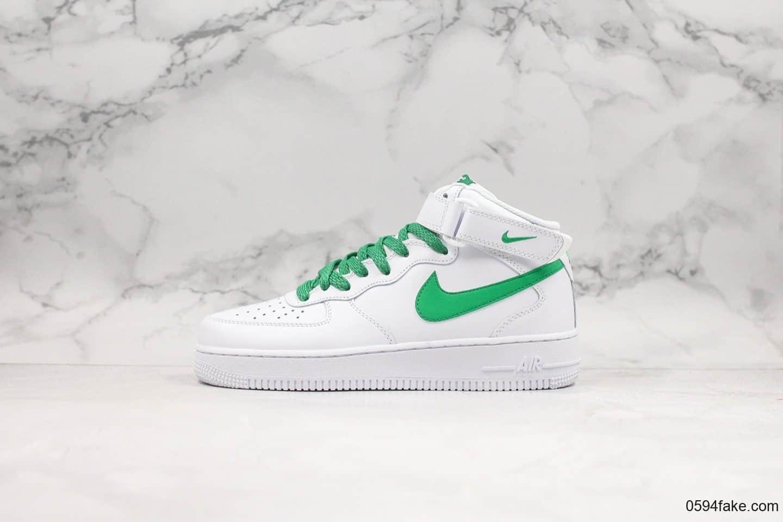 耐克Nike Air Force 1 '07 mid纯原版本空军一号3m满天星版本全新升级鞋型一比
