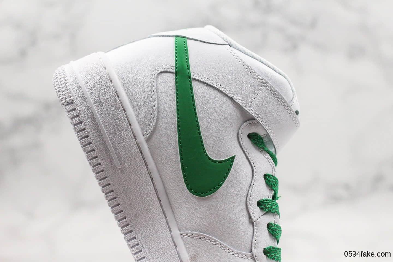 耐克Nike Air Force 1 '07 mid纯原版本空军一号3m满天星版本全新升级鞋型一比一原鞋打造内置气垫 货号:366731-909