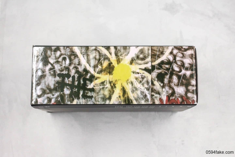 耐克Nike AirForce 1 PMO Para-Noise x PEACEMINUSONE纯原版本权志龙联名款低帮空军一号涂鸦小雏菊原盒配件双层可撕 货号:AQ3692-002