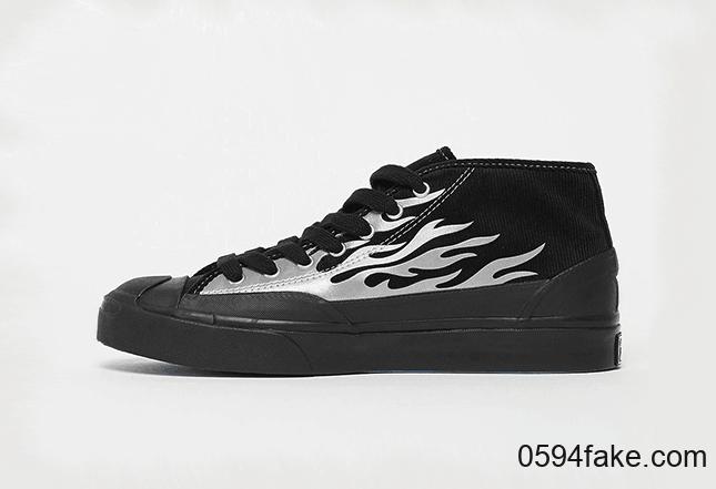 酷炫火焰!全新A$AP Nast x Converse联名即将发售!