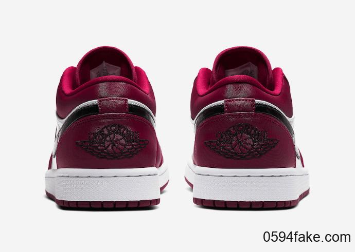 """浪漫玫红配色!Air Jordan 1 Low"""" Noble Red""""即将发售! 货号:553558-604"""