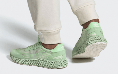 清新薄荷绿!全新adidas Futurecraft 4D-5923即将发售! 货号:EE7996