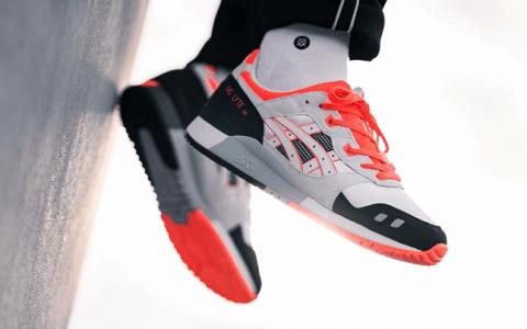 ASICS复古跑鞋Gel-Lyte III元年配色回归!经典再现!
