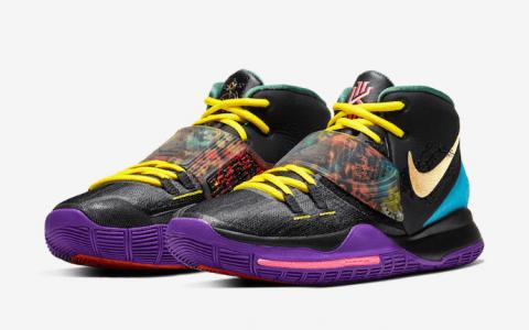 """喜庆中国年!Nike Kyrie 6 """"CNY""""明年发售! 货号:CD5029-001"""