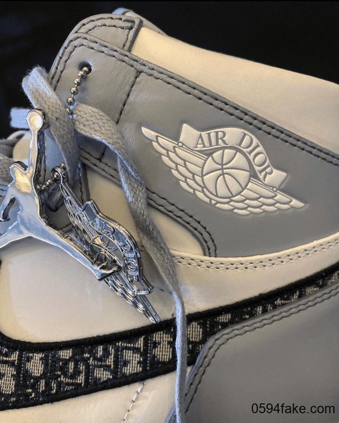 超限量重磅联名来袭!Dior x Air Jordan 1实物图首度曝光!