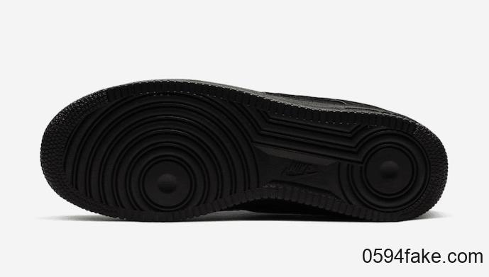 超限量纯黑配色!A Ma Maniére x Nike Air Force 1系列即将发售!