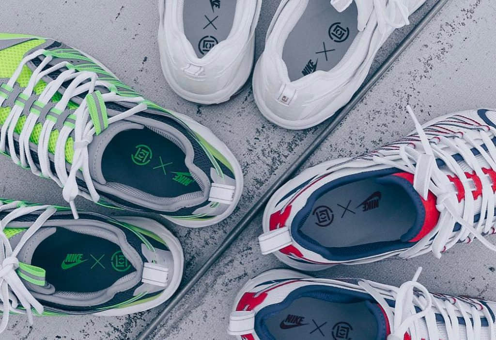 Nike Rubber X Clot Air Max 97 Haven Sneakers in White for