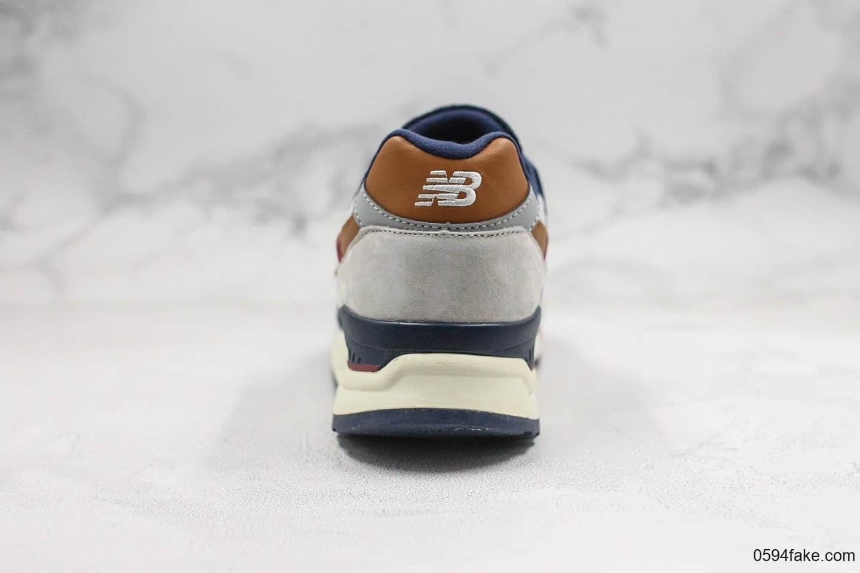 新百伦New Balance纯原版本美产998系列慢跑鞋绝版稀有配色原厂分离大底原盒原标区别市面通货版本 货号:M998CSU