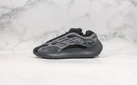 阿迪达斯Adidas Yeezy 700 V3 Azael纯原版本椰子700V3黑色骨架夜光老爹鞋原厂Boost缓震大底原档案数据开发 货号:H67799