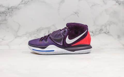 耐克Nike Kylie 6 Grand Purple纯原版本欧文6代紫罗兰配色篮球鞋内置气垫原档案数据开发支持实战 货号:BQ4631-500