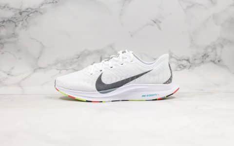 耐克Nike Zoom Pegasus Turbo 2 CR公司级版本马拉松飞马2代网面跑鞋白彩虹底配色内置Zoom气垫原盒原标 货号:AT2863-002