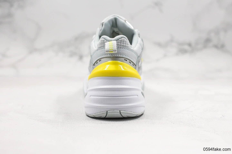 耐克Nike Air Monarch the M2K Tekno纯原版本复古休闲M2K老爹鞋米灰黄青岛原厂楦头纸板打造原盒原标 货号:CN0153-001