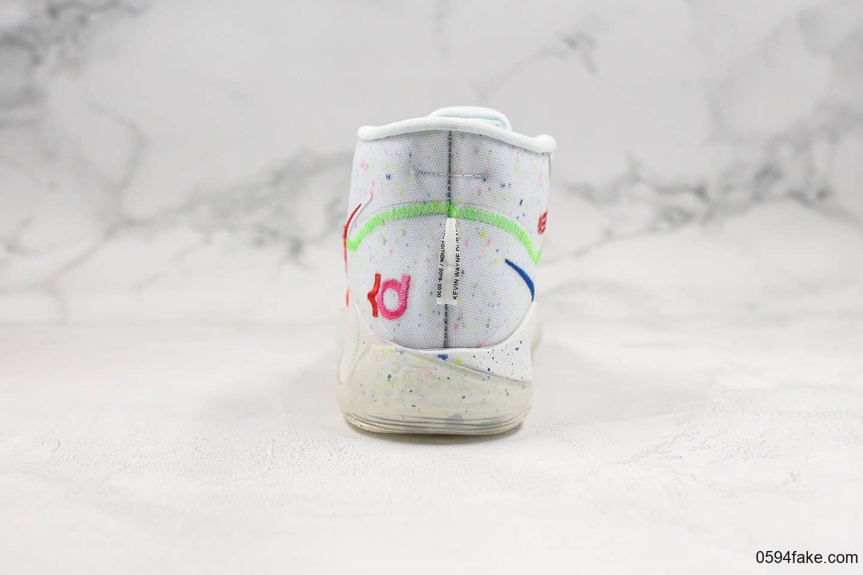 耐克Nike Zoom KD12 EP纯原版本杜兰特12代粉红色篮球鞋内置双层Zoom气垫原档案数锯开发支持实战 货号:AR4230-118
