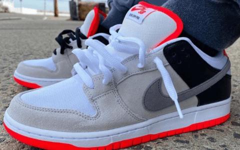 """经典红外线配色!Nike SB Dunk Low"""" Infrared""""将于1月20日发售! 货号:CD2563-004"""