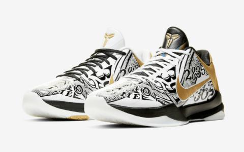 """缅怀科比!永远的黑曼巴!Nike Kobe 5 Protro"""" Big Stage""""即将登场! 货号:CT8014-100"""