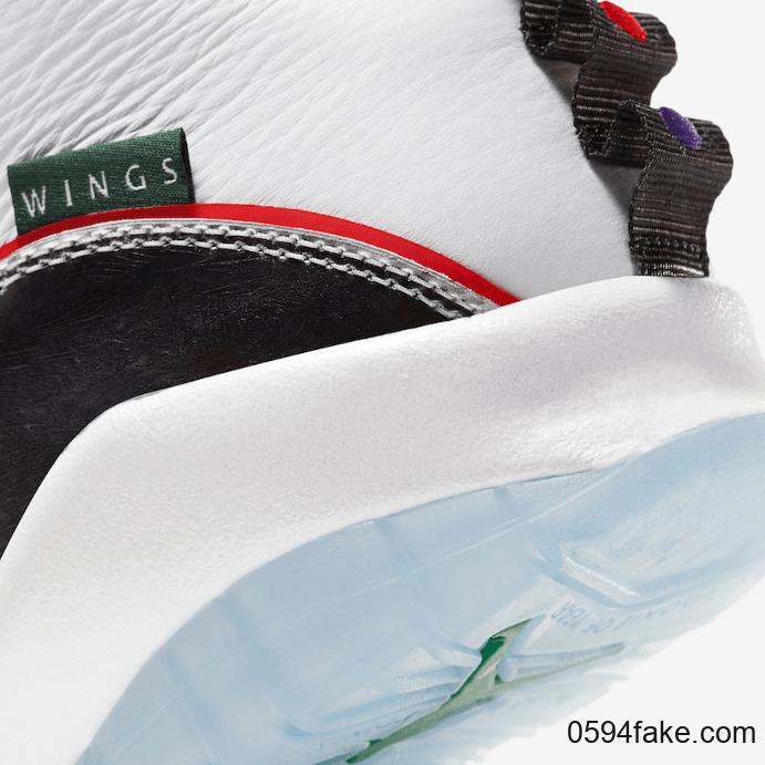 """AJ10"""" Wings""""释出官图!2月15日发售! 货号:CK4352-103"""