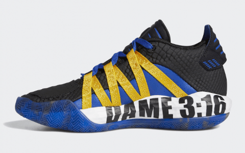 """奥斯汀装扮灵感!adidas Dame 6"""" Stone Cold""""将于1月25日发售! 货号:FV4214"""