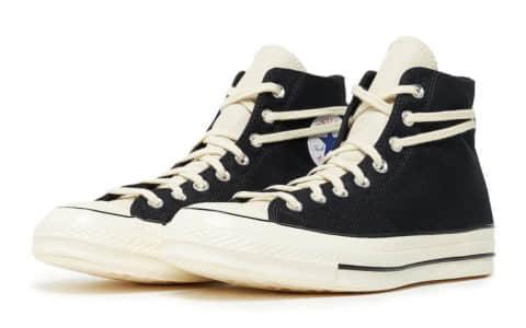 FOG x Converse Chuck 70黑白拼色再度发售!2月26日不要错过!