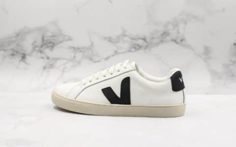 法国国民Veja Leather Extra Sneakers纯原版本V字经典小白鞋INS爆款全头层进口牛皮原厂大底