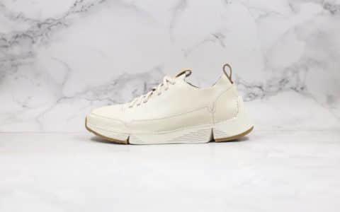 """其乐Clarks ORIGINALS纯原版本第五代""""三瓣鞋""""白色中山原厂代工出货"""