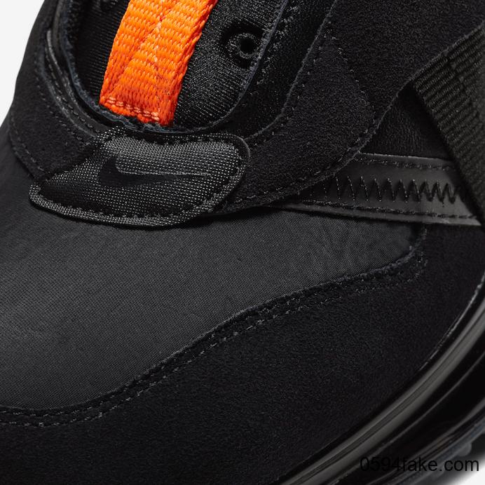 """机能鞋款Nike Air Max 720 Slip OBJ"""" Black""""释出官图!2月21日发售! 货号:DA4155-001"""