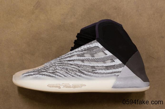"""椰子家族第一双篮球鞋来了!adidas Yeezy Basketball """"Quantum""""全明星周某发售! 货号:EG1535"""