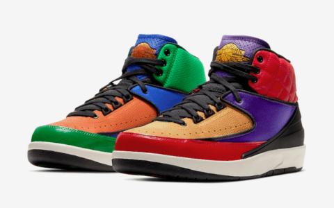 "高规格制作!Air Jordan 2 WMNS"" Multicolor""释出官图! 货号:CT6244-600"